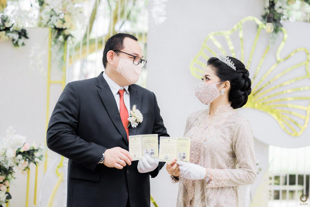 0 DSCF0376 : New Normal Wedding Ceremony