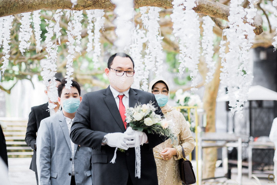 1 DSCF0207 : New Normal Wedding Ceremony