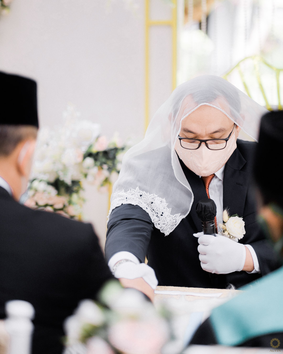7 DSCF0307 : New Normal Wedding Ceremony