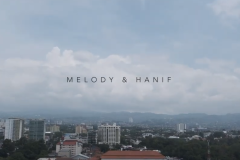 Melody (JKT48) & Hanif Wedding