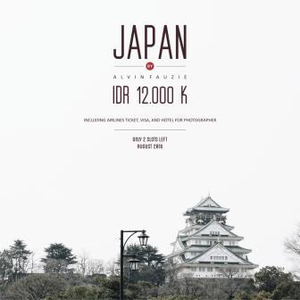 Japan Prewedding Trip Special Promo