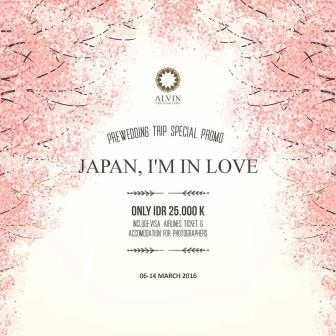 Prewedding Trip Special Promo - Japan, I'm In Love