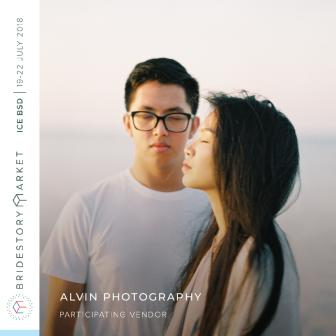 Alvin Photography at Bridestory Market 19-22 July 2018