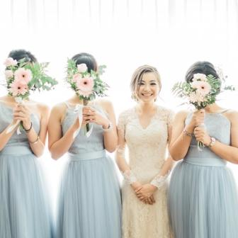 Vanilla Twilight with Chic Style in Your Big Day
