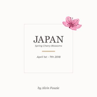Japan Spring Cherry Blossoms by Alvin Fauzie