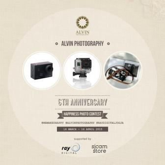 ALVIN PHOTOGRAPHY 6TH ANNIVERSARY HAPPINESS PHOTO CONTEST