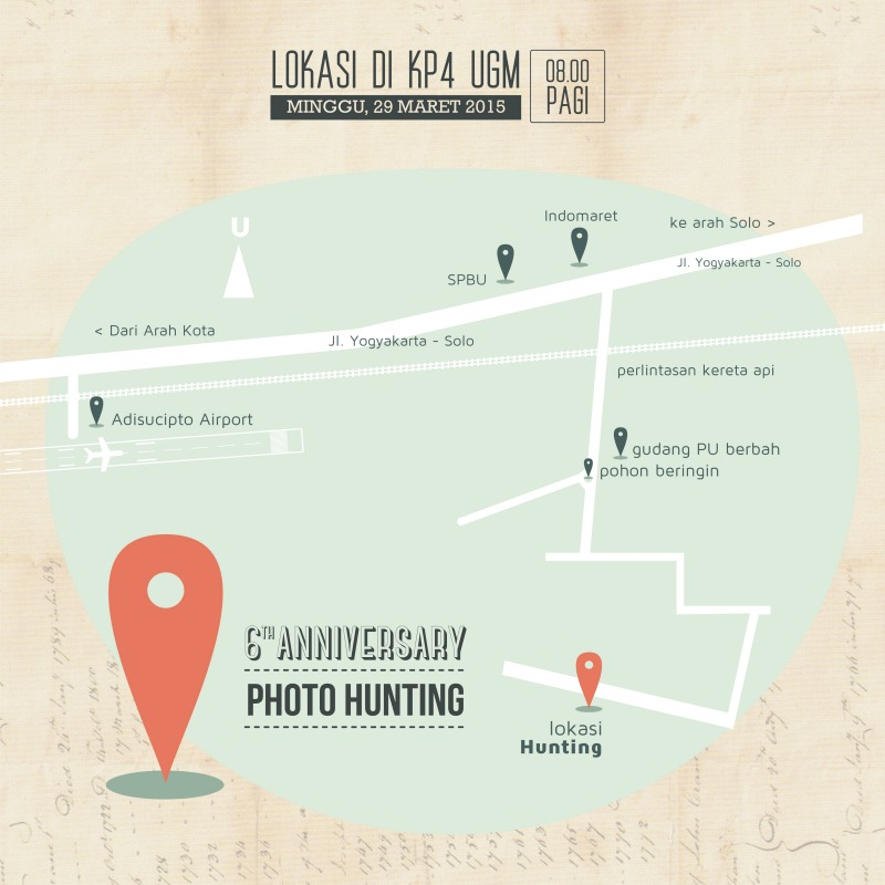 Alvin Photography 6th anniversary photo hunting - map & locations