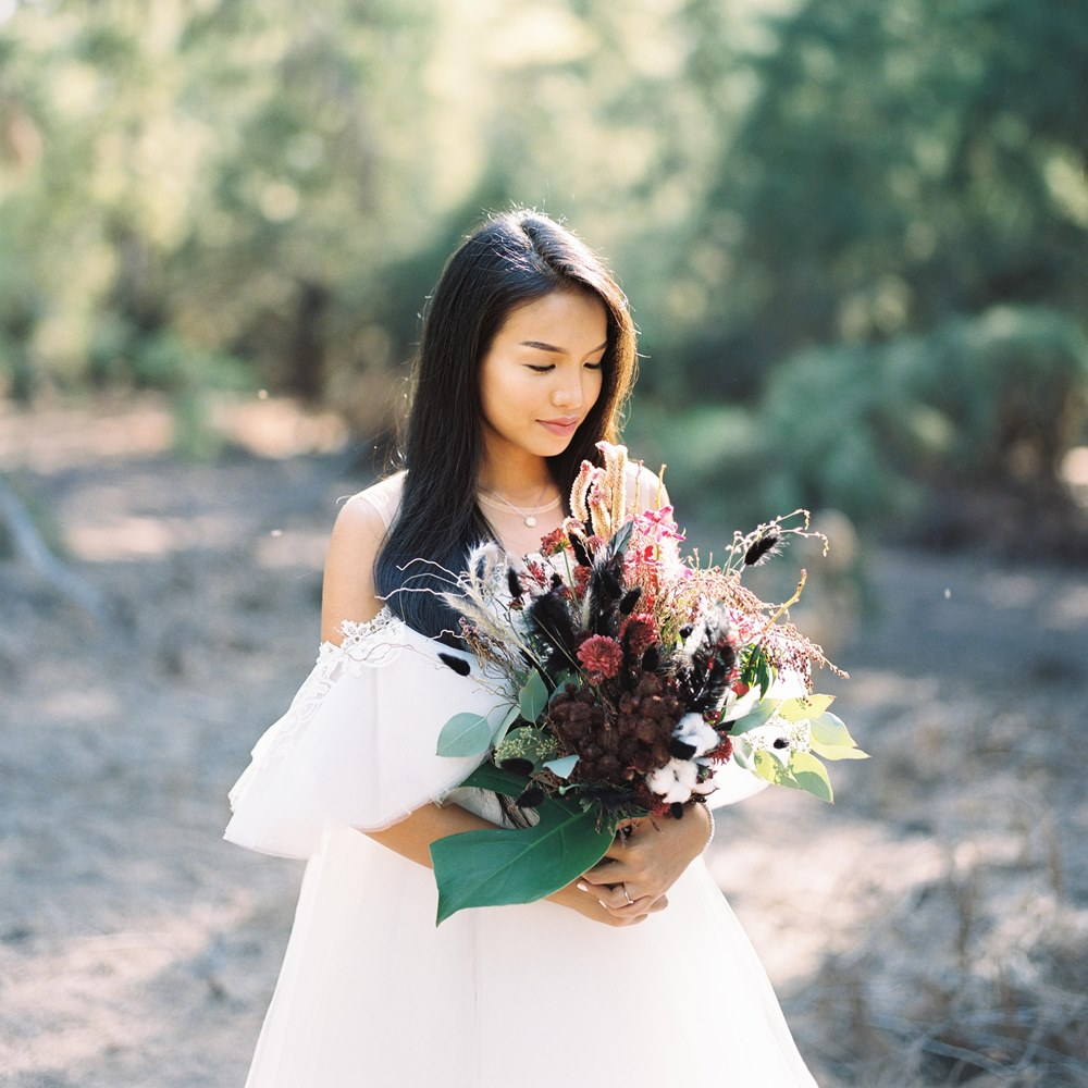 Tabita : Being Different for Your Big Day by Enjoying The elements of Surprise With Analog Camera