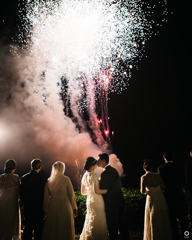 Zfirework : Dinda & Gonzaga Wedding